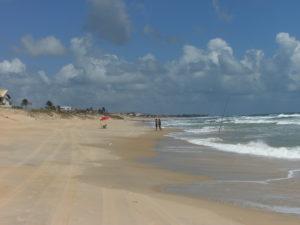 Flere km med flott sandstrand!